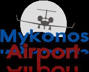 mykonos airport logo